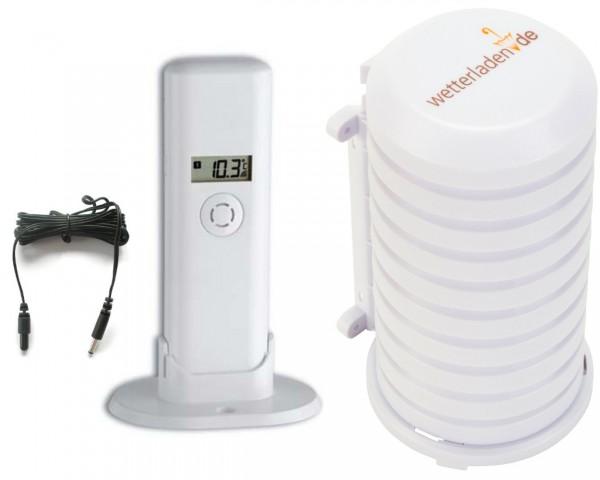 Kabel Funk-Sender TFA 30.3181.IT mit Wetterschutzgehäuse 868 MHz Temperatursensor