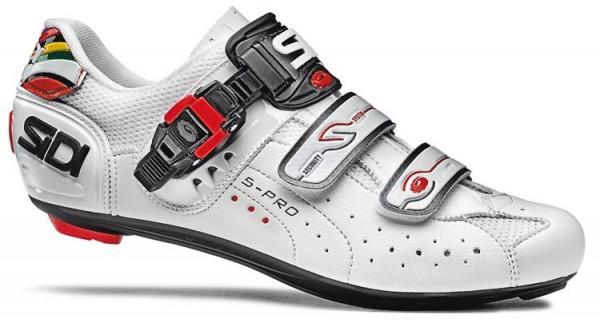 Fahrradschuhe Rennrad Sidi Genius 5 Pro weiss