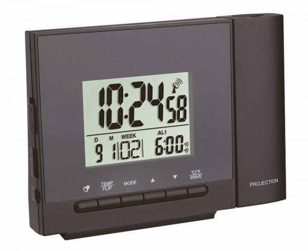 Funk-Projektionsuhr mit Thermometer TFA 60.5013
