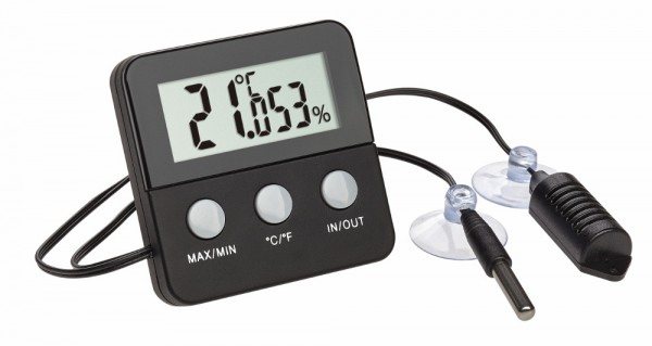 Digitales Thermo-Hygrometer Terracheck TFA 30.5044.01 Terrariumüberwachung