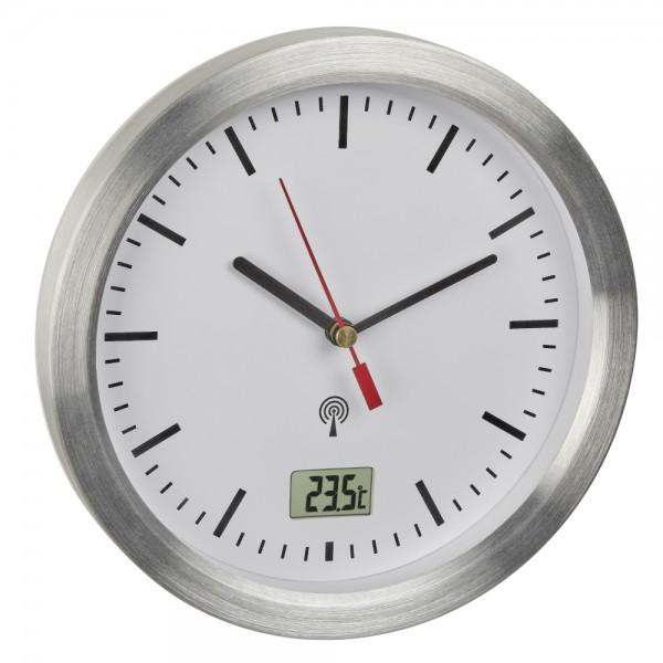 TFA 60.3539.02 Analoge Funk-Badezimmeruhr mit Temperaturanzeige Ø 173 mm