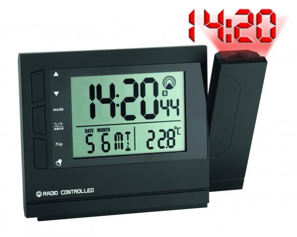 60.5008 Digitale Funk-Projektionsuhr mit Temperatur