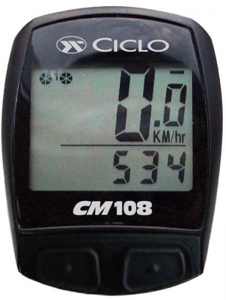Fahrradcomputer Kabelmodell Ciclosport CM 108