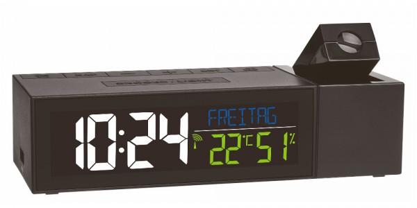 Funk-Projektionsuhr SHOW TFA 60.5014.01 mit Raumklima