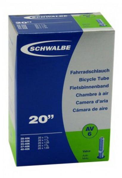 "Schwalbe Fahrradschlauch 20"" Nr.6"