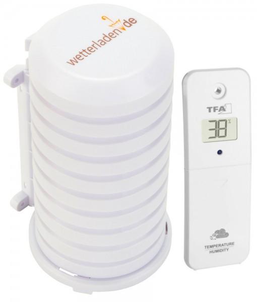 TFA 30.3800.02 Thermo-Hygrosender mit Wetterschutzgehäuse 98.1114.02