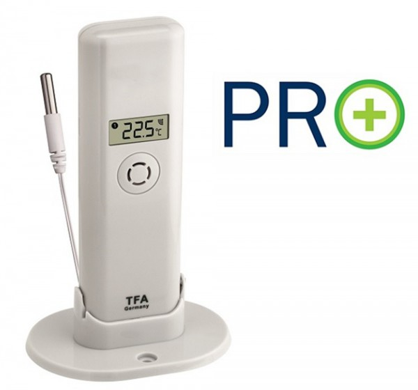 Weatherhub Temperatursender mit Kabelsensor und PRO Funktionen TFA 30.3313.02