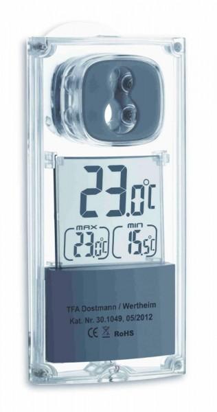 Sonderposten Digitales Solar-Fensterthermometer TFA 30.1049