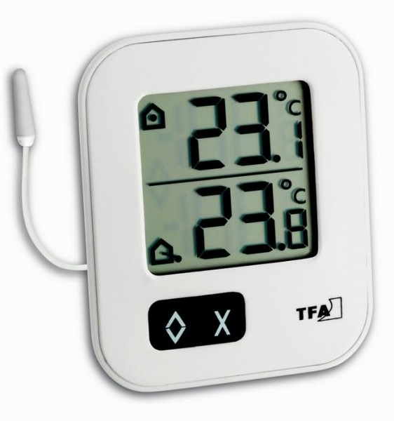 Digitales Innen-Außen-Thermometer MOXX TFA 30.1043.02