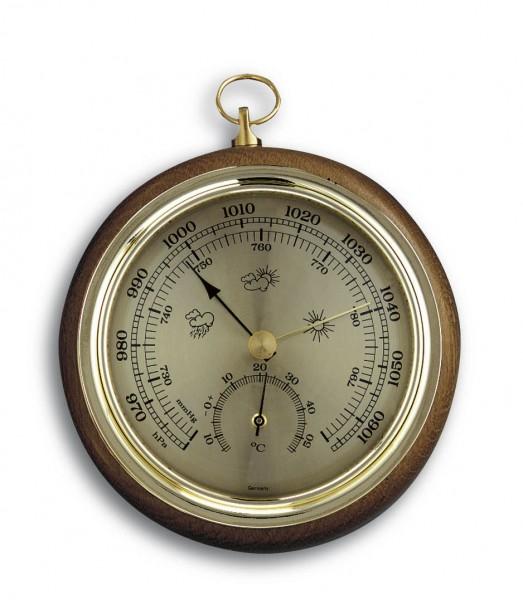 TFA 45.1000 Analoges Thermo-Barometer aus Massivholz