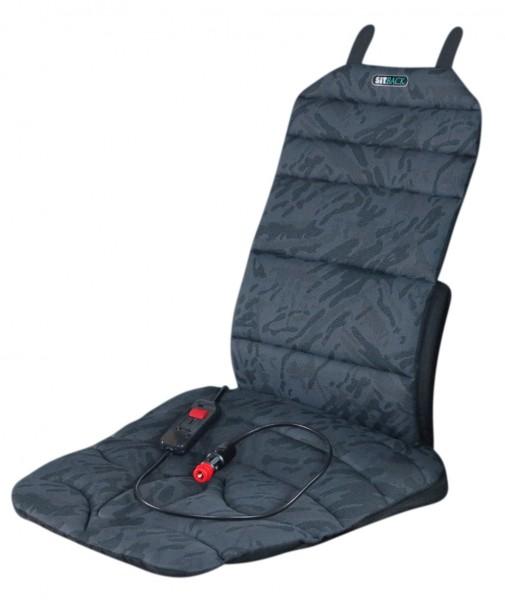 Sitback Sitzheizung Basic 5 in 1 Sitzkeil Autositzauflage Klimamatte