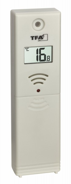 TFA 30.3225 Ersatz Temperatursender für Rainman 47.3004