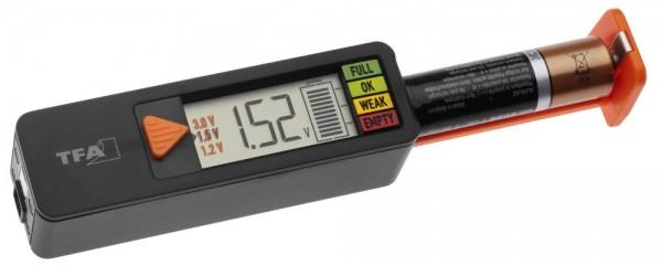 Profi Batterietester BatteryCheck TFA 98.1126.01