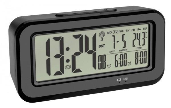 TFA 60.2554.01 Digitaler Funkwecker Boxx mit Temperatur und Lichtsensor