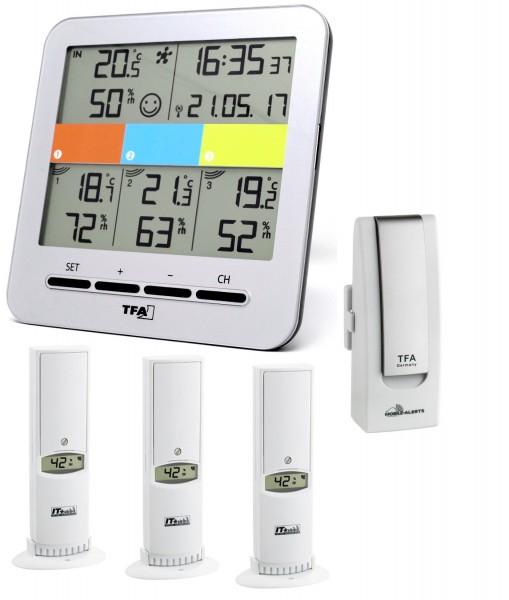 KlimaHome Korfu TFA 30.3060.IT Funk-Thermo-Hygrometer