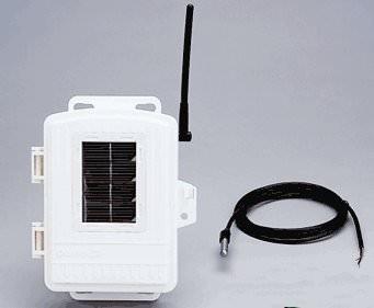 Solar-Temperatur-Station mit Edelstahlfühler 6372spezial