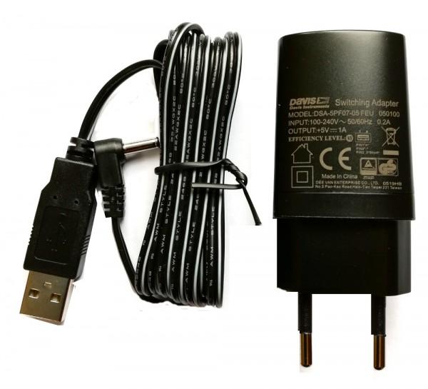 USB Netzteil 7379.041 für Davis Vantage Pro Konsolen