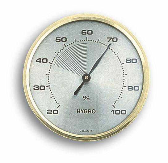 TFA 44.1001 Analoges Hygrometer mit Messingring