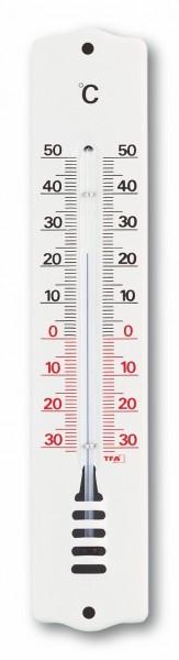 Analoges Innen-Außen-Thermometer aus Metall TFA 12.2008