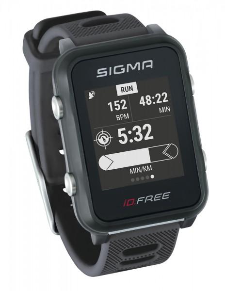 Sigma Multifunktions Sportuhr iD.FREE Crash Sensor GPS Navigation Höhenmesser