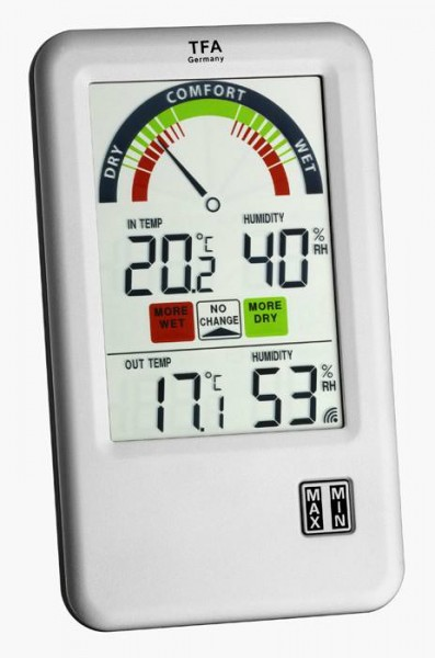 Funk-Thermo-Hygrometer Bel Air 30.3045