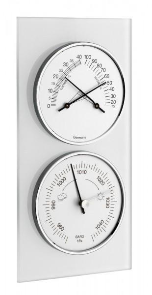 Wetterstation Glas TFA 20.3022 Analog Barometer Thermo-Hygrometer