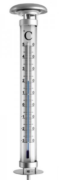 Sparpaket Solar-Garten-Thermometer Solino und Regenmesser 471008