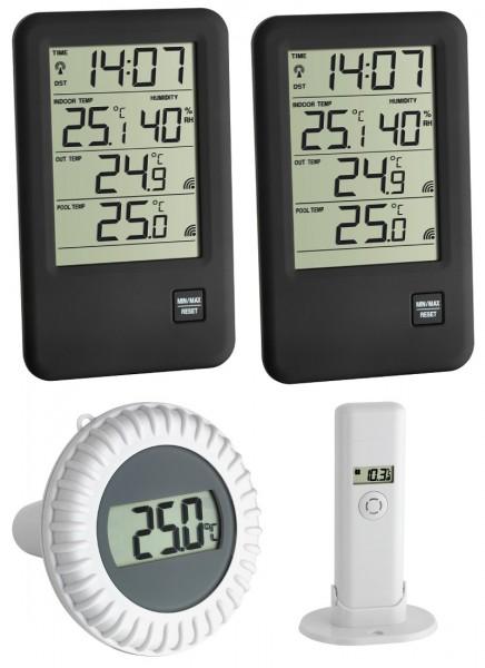Schwimmbadthermometer Malibu Mega TFA 30.3053 Poolthermometer