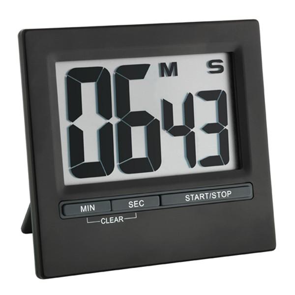 Digitaler Timer und Stoppuhr mit Aluminium-Front
