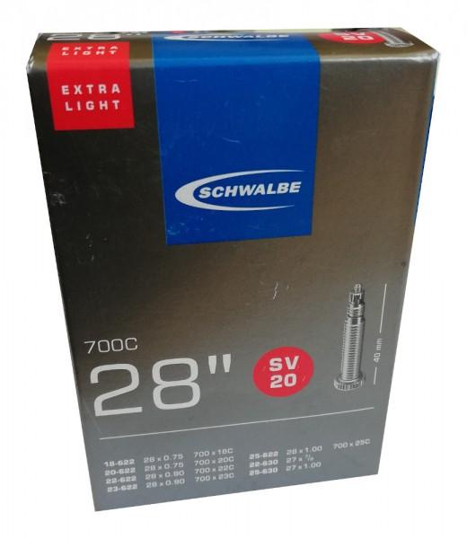 Schwalbe Fahrradschlauch Nr.20 28 SV Zoll Ersatzschlauch