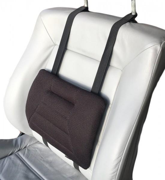 Sitwell Rückenstütze black air 3D Lordosenkissen Rückenkissen