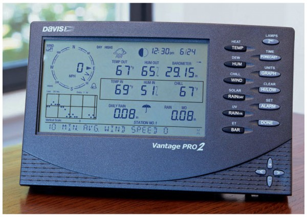 Basisstation 6312C Davis Vantage Pro 2 Konsole