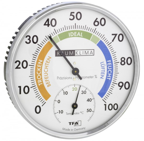 XXL Thermometer-Hygrometer Mitchi TFA 45.2021.42