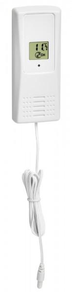 Funk Kabel-Temperatursender TFA 30.3229.02 für Trio, Klima Monitor, Venice