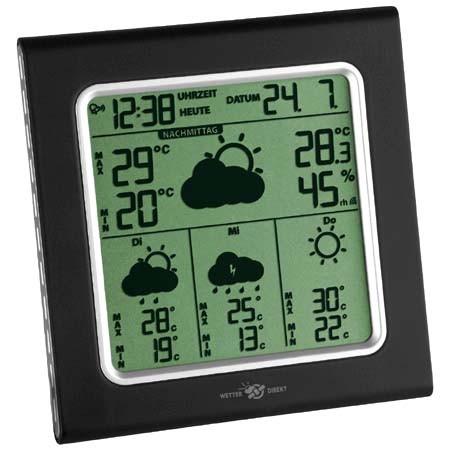 Wetterstation Wetterdirekt Galileo Plus TFA Dostmann 35.5001