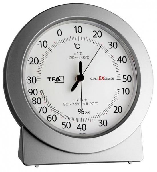 Präzisions - Thermo - Hygrometer Super-EX TFA 45.2020