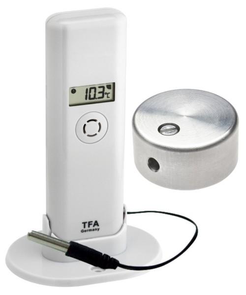 Sparset TFA 30.3302.02.99 Thermo Hygro Sender mit Temperaturbremse
