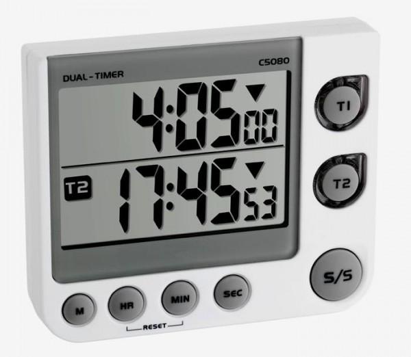 TFA 38.2025 Digitaler 2-fach Timer