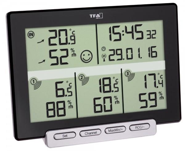 Thermo-Hygrometer Multi-Sens TFA 30.3057.01 Raumklimakontrolle