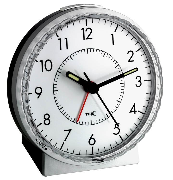 Wecker ohne zeiger  Lautlos Wecker Sweeptimer TFA 60.1010 | Wecker und Funkwecker ...