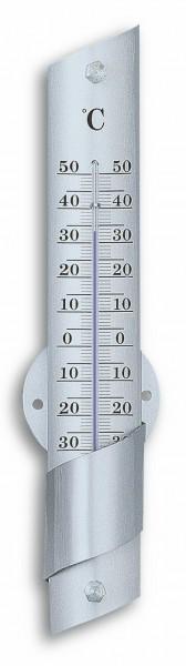 TFA 12.2029 Analoges Innen-Außen-Thermometer aus Aluminium