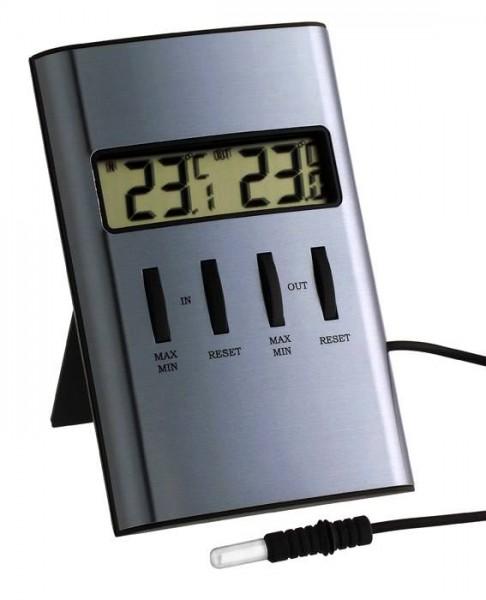 Temperatur-Messgerät TFA 30.1029 2 Temperaturen sehr genau