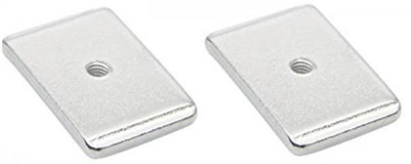 2 Gewindeplatten 33417 für QMR-Haken