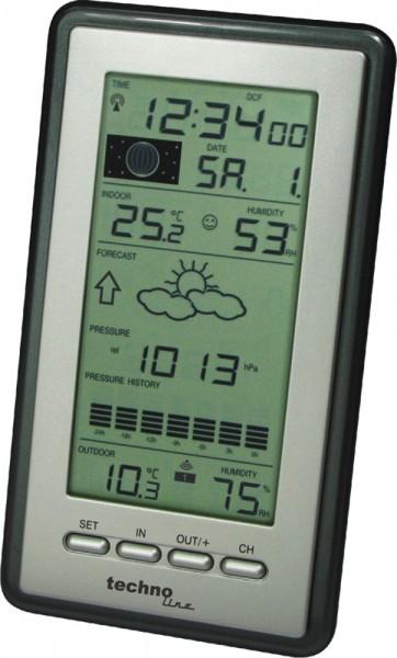 Wetterstation WS 9040-IT mit Mondphasenanzeige Funk-Wetterstation