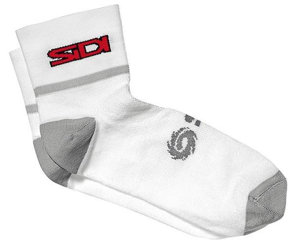 Fahrrad-Socken Sidi Coolmax grau-weiss