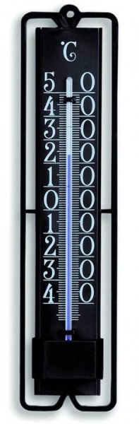 Garten-Thermometer metall schwarz TFA 12.2001
