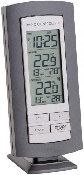 Technoline WS 9140 digitales Funkthermometer Funkwetterstation mit Außensensor