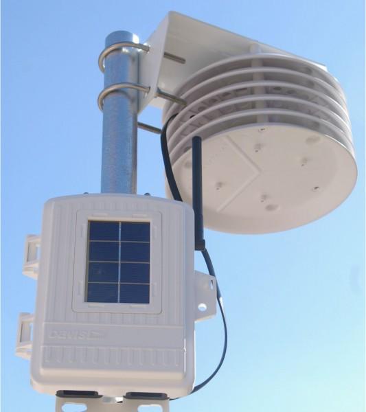 Funk Temperatur-Luftfeuchte-Station 6382 Plus Solar