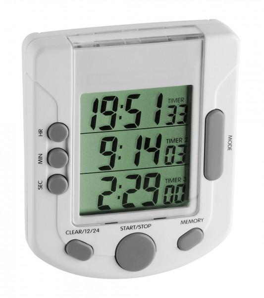 TFA 38.2020 Digitaler 3-fach-Timer TRIPLE TIME