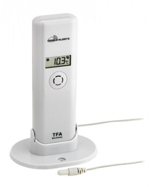 TFA 30.3304.02 Thermo - Hygro - Sender mit wasserfestem Temperatur-Kabelfühler für Weather